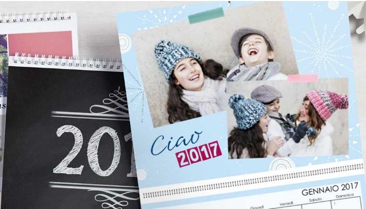 calendari personalizzati con foto