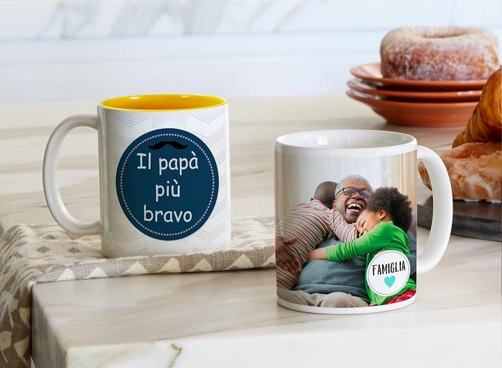 regala a papà una tazza panoramica personalizzata