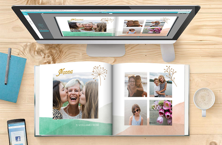 Guida in 4 passaggi : stampa fotolibro online