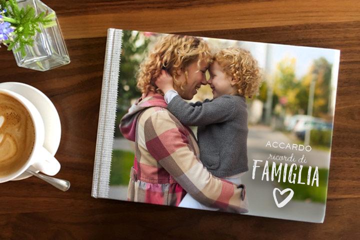 stampa fotoLibro online per la festa della Mamma!
