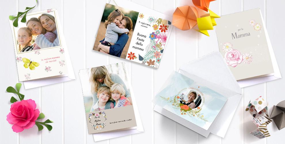 biglietti di auguri personalizzati per la festa della mamma