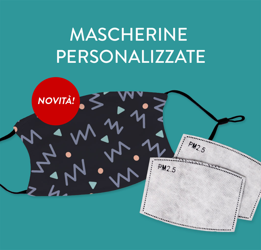 mascherine personalizzate protettive