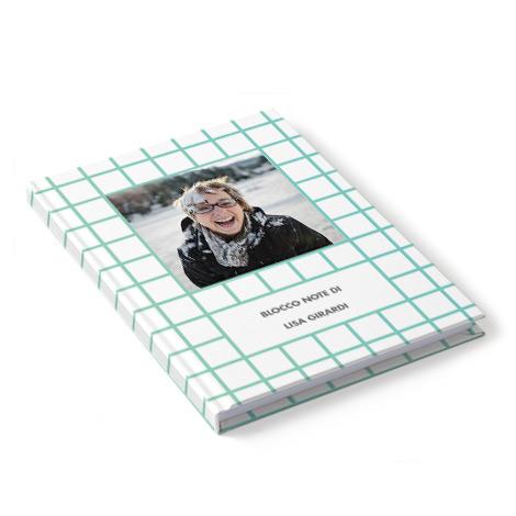 Quaderno personalizzato con foto e testo