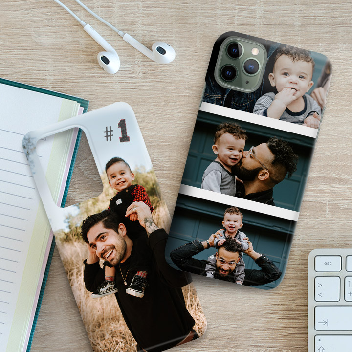 crea cover personalizzate per lo smartphone di papà